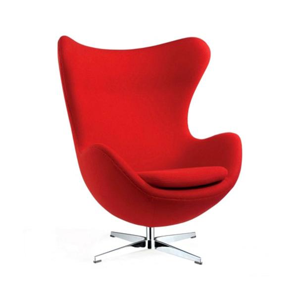 Gone rogue replica egg chair jacobsen for Egg chair replica leder